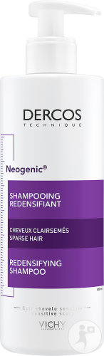 Vichy Dercos Neogenic Shampoing Redensifiant Cheveux Clairsemés Flacon 400ml