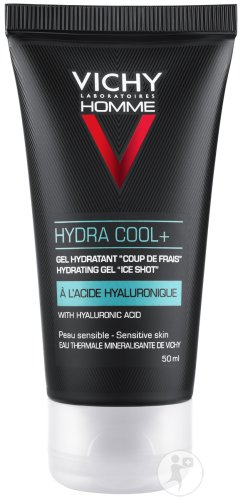 Vichy Homme Hydra Cool+ Gel Hydratant Tube 50ml