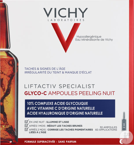 Vichy Liftactiv Glyco-C Ampoules Anti-Pigmentation Cure 30 Jours 30x2ml