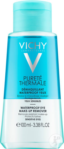 Vichy Pureté Thermale Démaquillant Bi-Phase Waterproof Yeux Sensibles Flacon 100ml