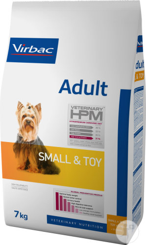 Virbac Adult Dog Small & Toy Croquettes Chien Petite Race Adulte 7kg