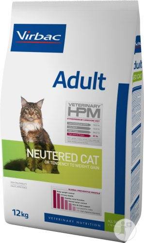 Virbac Adult Neutered Cat 12kg
