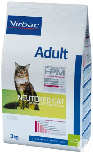 Virbac Adult Neutered Cat 7kg