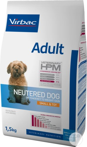 Virbac Adult Neutered Dog Small & Toy 1,5kg