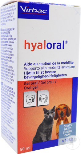 Virbac Hyaloral Gel Orale Chiens Et Chats 50ml