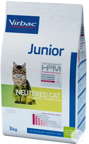 Virbac Junior Neutered Cat 3kg