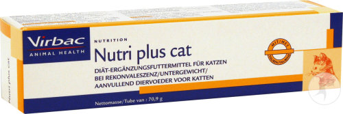 Virbac Nutri-Plus Cat Tube 70,9g