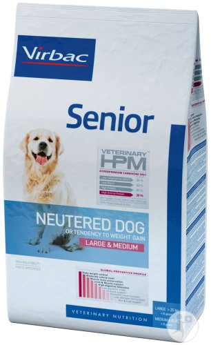 Virbac Senior Neutered Dog Large & Medium 12kg