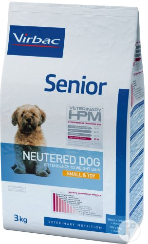 Virbac Senior Neutered Dog Small & Toy 3kg