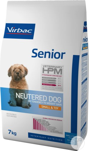 Virbac Senior Neutered Dog Small & Toy 7kg