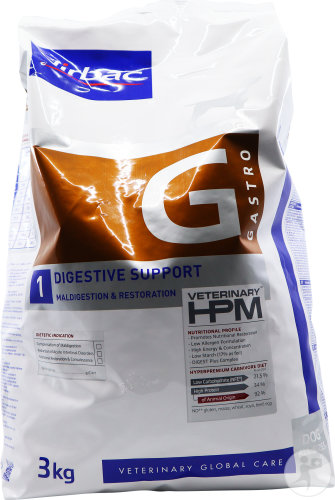 Virbac Veterinary HPM Digestive Support G1 Pour Chiens 3kg