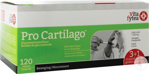 Vitafytea Pro Cartilago Glucosamine Tablettes 120x1500mg