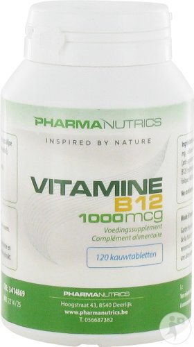 Vitamine B12 Pot Comp 120 Pharmanutrics