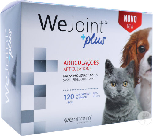 Wejoint Plus Small Breed & Cat Comp 4x30