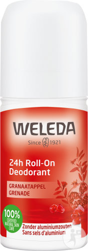 Weleda Déodorant Grenade 24h Roll-On 50ml