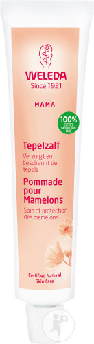 Weleda Mama Pommade Pour Mamelons Tube 25g