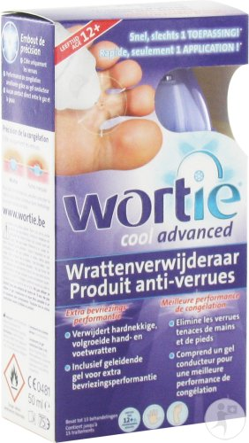 Wortie Verrue Cool Advanced Age +12 50ml