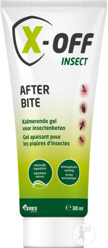 X-Off Insect After Bite Gel Apaisant Pour Les Piqûres D'Insectes Tube 30ml