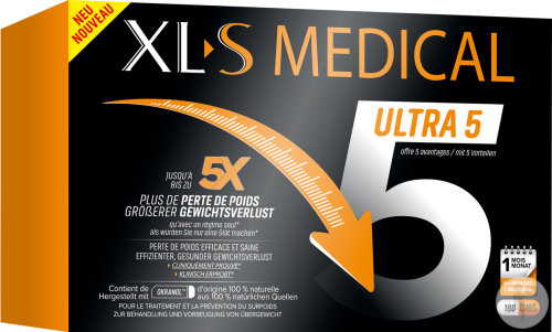 XLS Medical Ultra 5/Force 5 Duopack 2x180 Capsules