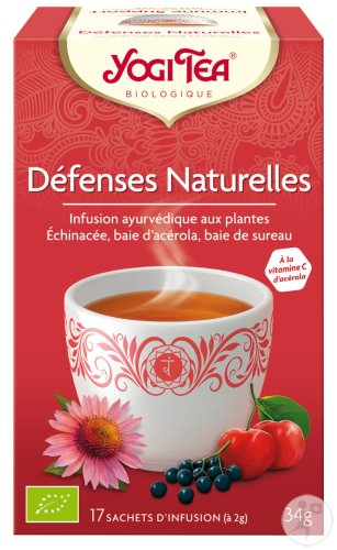Yogi Tea Défenses Naturelles Bio 17 Sachets Infusion