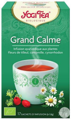 Yogi Tea Grand Calme 17 Sachets Infusion