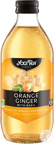 Yogi Tea Orange Basilic 330ml