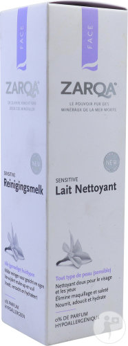 Zarqa Sensitive Lait Démaquillant 200ml