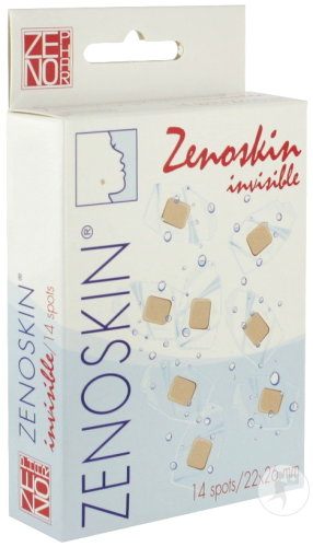 Zenoskin Invisible Pansements 22x26mm Pièces 14
