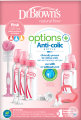 Dr. Brown's Options+ Anti-Colic Bottle Giftbox Standaardfles Roze