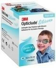 3M Opticlude Silicone Oogpleister Boy Midi 50 Stuks