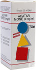 Acatar Mono 3mg/ml Siroop 125ml