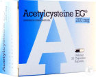 Acetylcysteine EG 200mg Capsules 30