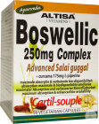 Altisa Boswellic 250mg Complex Advanced Salai Guggal 50 Vegetarische Capsules