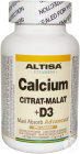 Altisa Calcium Citrate-malate + D3 Comp 100
