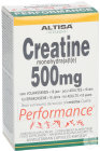 Altisa Creatine Monohydraat 500mg Performance 60 Vegetarische Slikcapsules