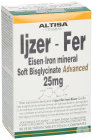 Altisa IJzer Soft Bisglycinaat 25mg Advanced 90 Vegetarische Sliktabletten