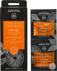 Apivita Express Beauty Gezichtsmasker Sinaas 2x8ml