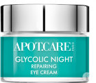 Apot.Care Glycolic Night Eye Repair Oog Nachtcreme Pot 15ml
