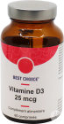 Best Choice Vitamine D3 25mcg Tabletten 60