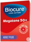 Biocure Long Action Megatone 50+ Adult Plus 30 Filmomhulde Tabletten