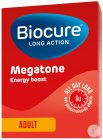 Biocure Long Action Megatone Energy Boost Adult 60 Filmomhulde Tabletten