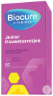Biocure Vitamines Junior 60 Kauwsterretjes