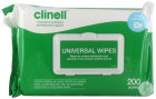 Clinell Universel Wipes Clip Pack 200 Stuks