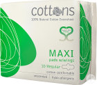 Cottons Maandverband Maxi Regular 10 Stuks