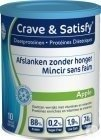 Crave & Satisfy Dieetproteinen Apple Pot 200g