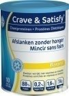 Crave & Satisfy Dieetproteinen Banana Pot 200g
