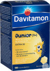 Davitamon Junior 3+ Multivitamines Banaansmaak 120 Kauwtabletten