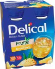 Delical Fruitdrink Ananas Smaak Flesjes 4x200ml