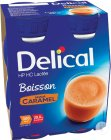 Delical HP HC Melkdrank Karamel Smaak Flesjes 4x200ml