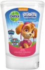Dettol Kids Soft On Skin No Touch Antibacterieel Wascrème Paw Patrol Roze Navulling 250ml
